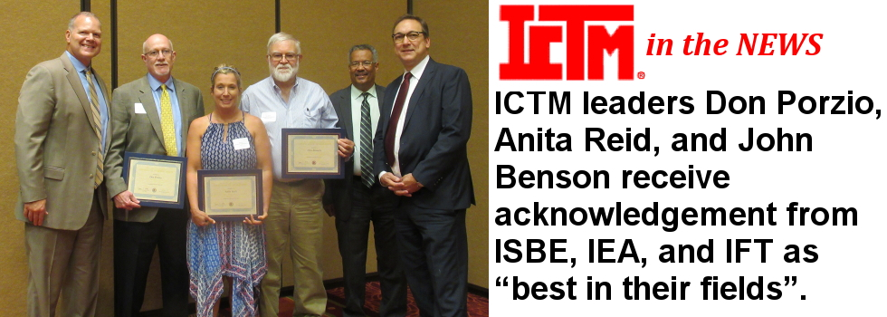 ISBE Honors ICTM Leaders